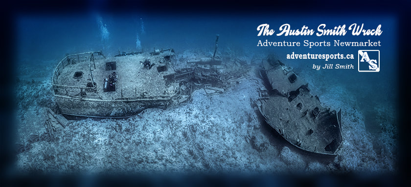 Austin Smith wreck scuba mapping project