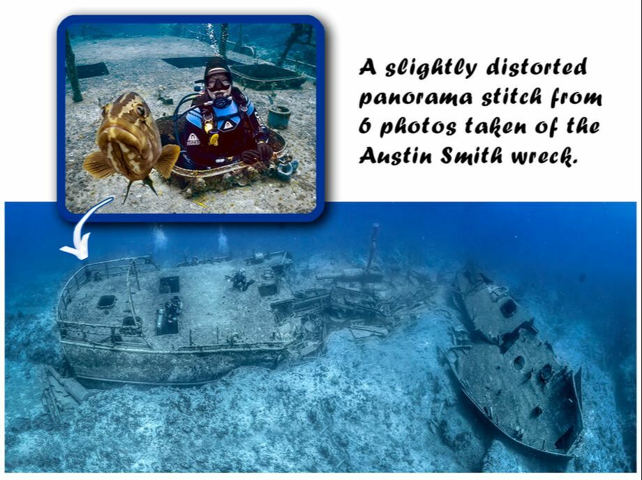 Austin Smith wreck mapping project