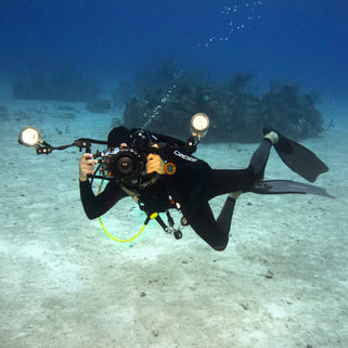 PADI Underwater photography scuba diving lessons